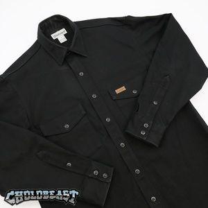 Carhartt Thick Work Flannel Button up L ben davis